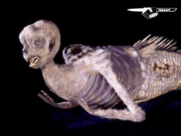 Archaeological forgery! The Fiji Mermaid
