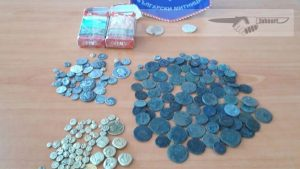 In Bulgaria, treasure hunters were arrested, draining a lake to search for valuables