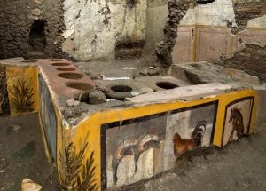 Roman food pavilion