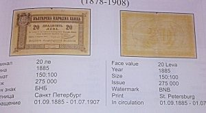 Stefan Proynov: The History of the First Bulgarian Banknote