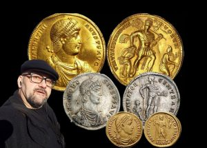Stefan Proynov: Gold medallion of Valentinian I