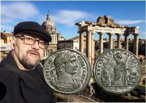Stefan Proynov: Bronze medallions in late Rome